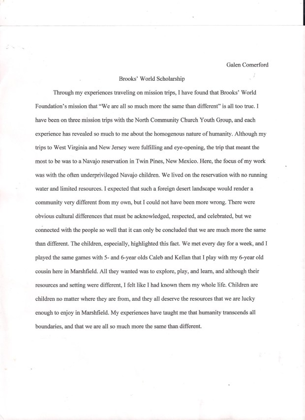 career goals essay