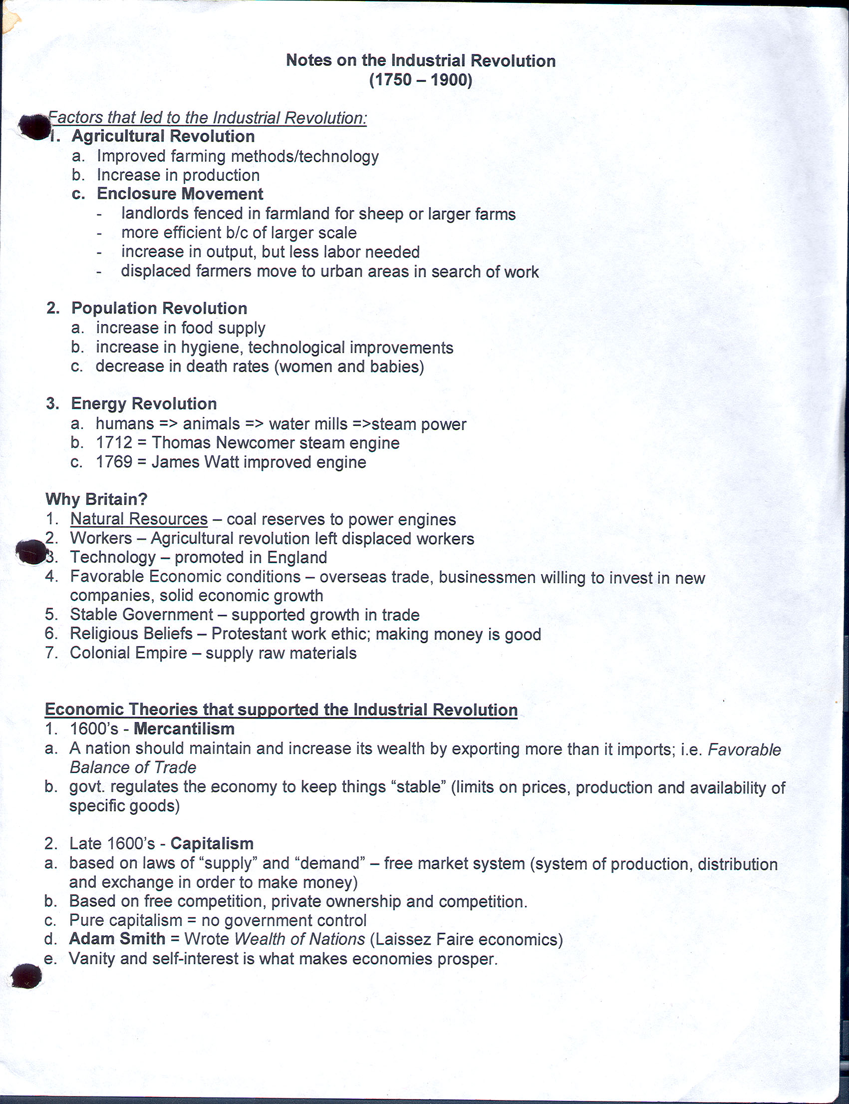 Causes Of The American Revolution Worksheet Answers