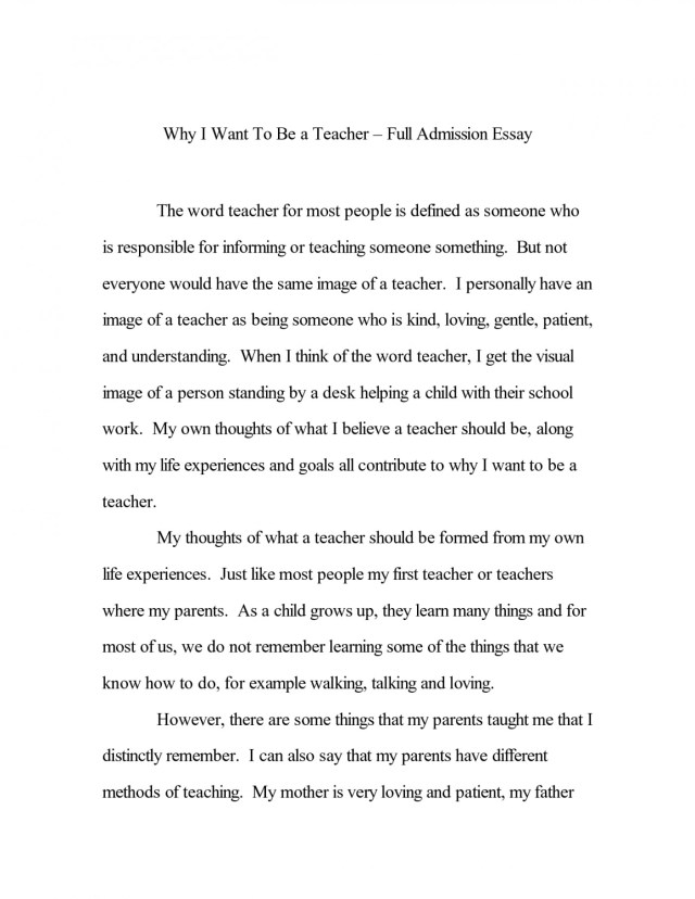 personal college admission essay examples about yourself