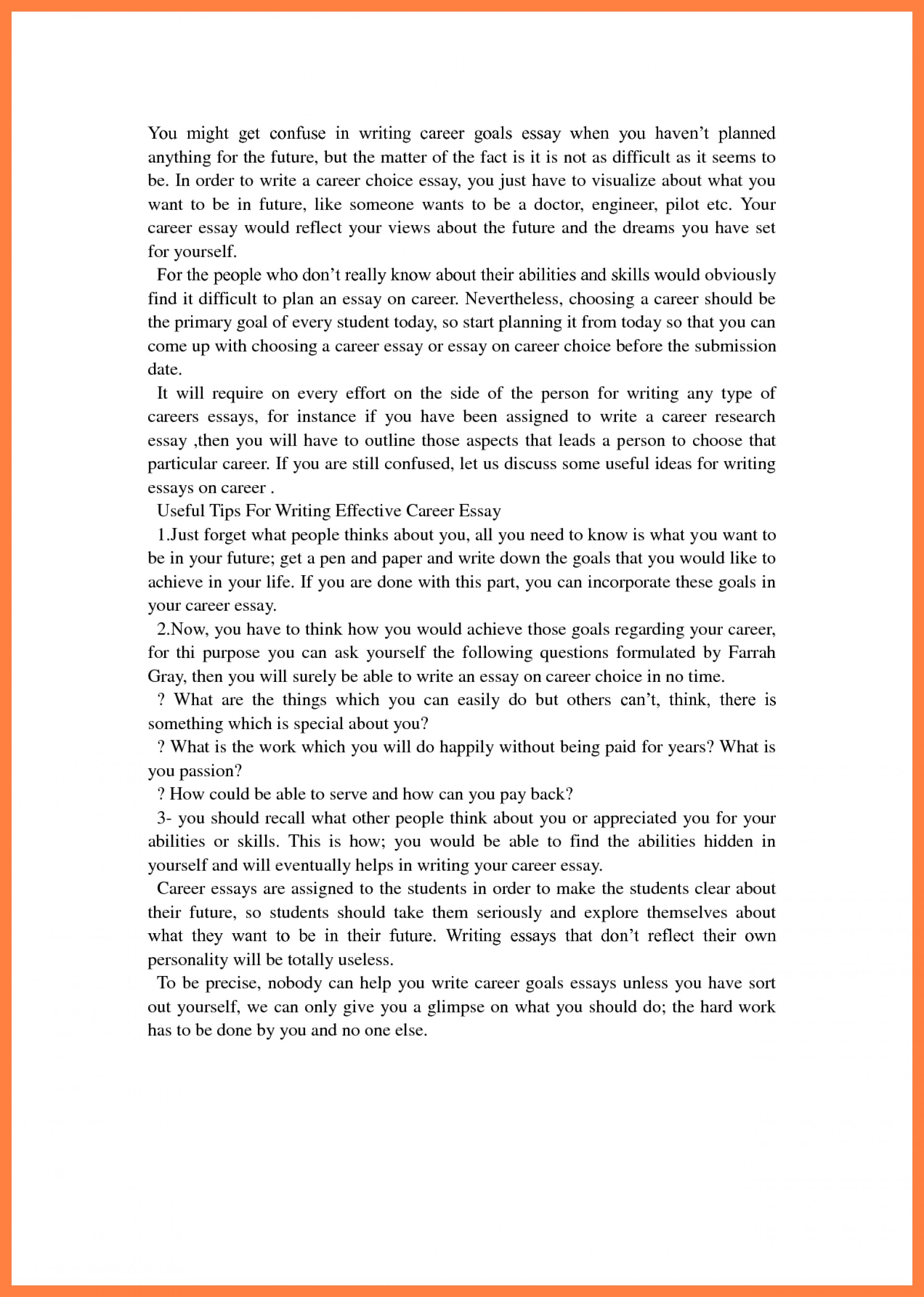 003 Career Goals For Resume Marvellous Short And Long Term