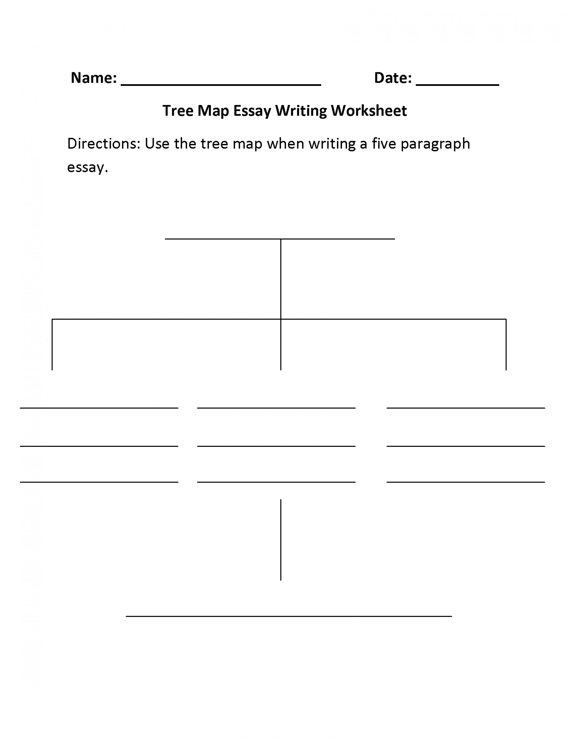 003 Essay Example Different Types Of Essays Worksheets