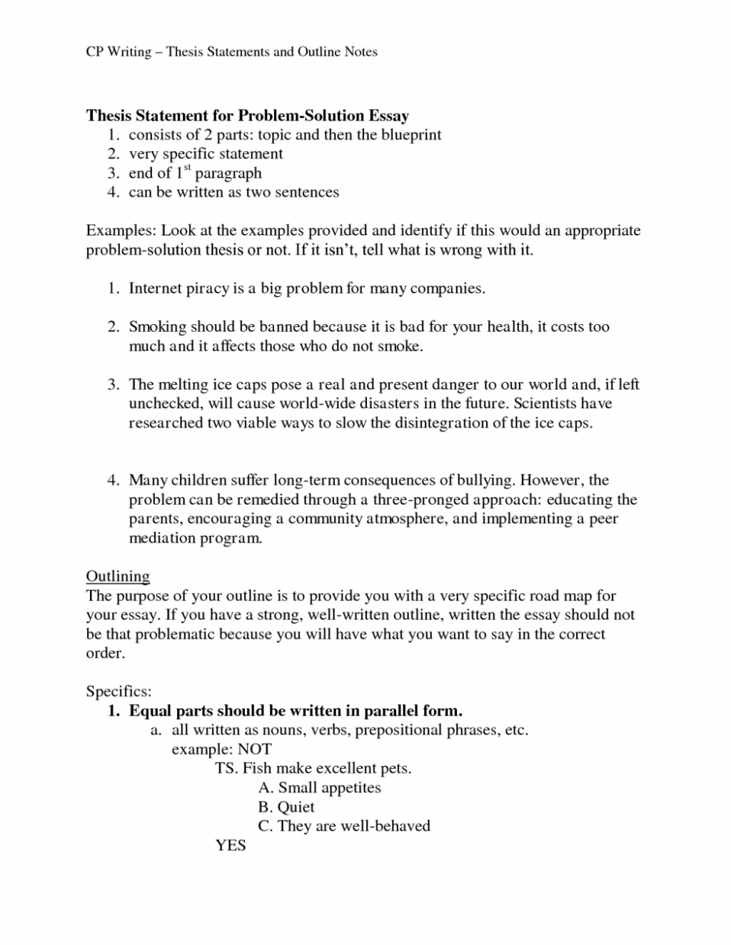 005 Essay Outline Comparative Format For Mlae Persuasive