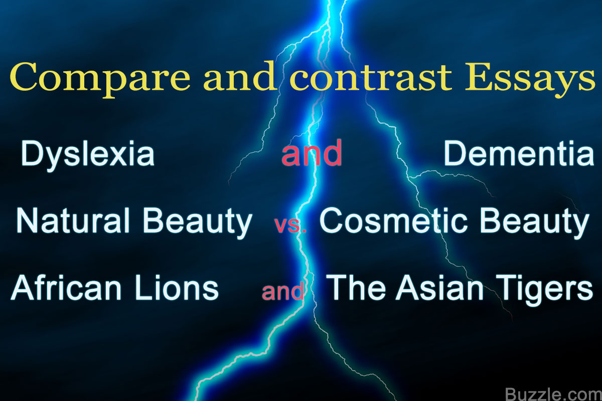001 Compare And Contrast Essay Example Thatsnotus