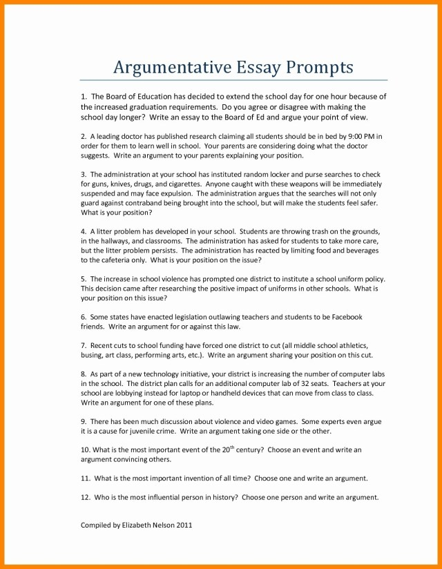persuasive essay examples high school