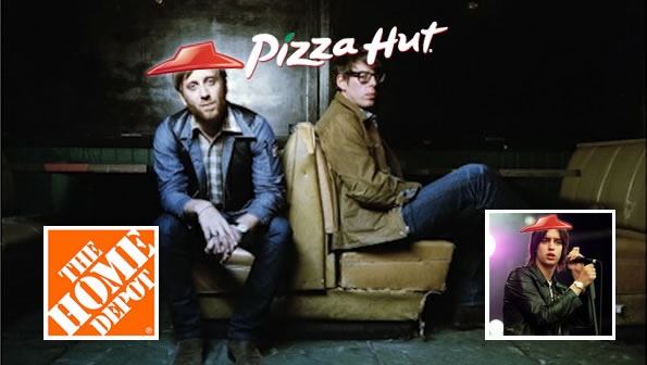The Black Keys vs. Pizza Hut vs. Home Depot vs. The Strokes on ThatSongSoundsLike.com