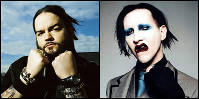 Josey Scott of Saliva and Marilyn Manson on ThatSongSoundsLike.com