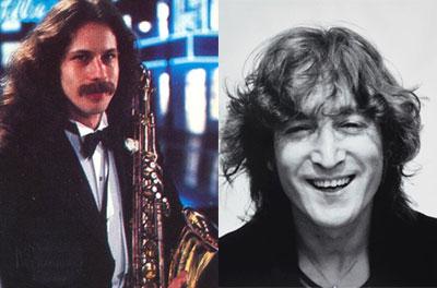 John Lennon vs. Saturday Night Live Theme (Lou Marini on sax)