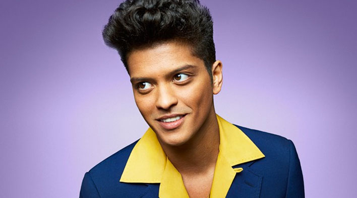 Bruno Mars on ThatsSongSoundsLike.com