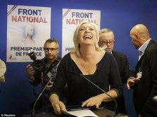 Marine Le Pen: :Leader of the French far-right Front National, which came top nationally in the 2014 European Election.