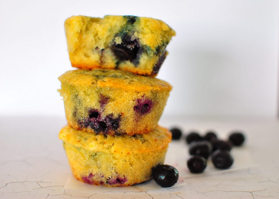 Sugar-free-Blueberry-Muffins