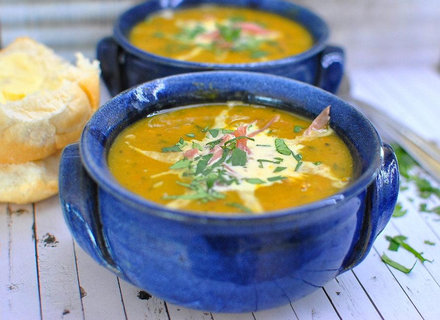 Bacon Hock & Vegetable Soup