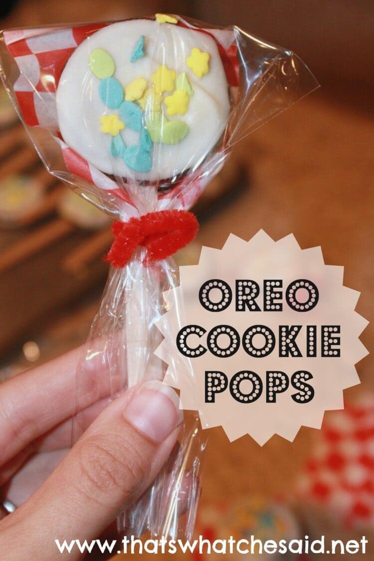 Oreo Cookie Pops