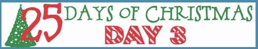 25 Days of Christmas Banner day 3