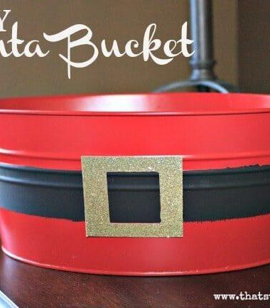 DIY Santa Bucket