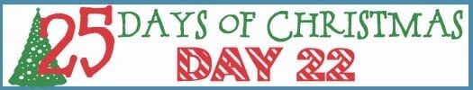25 Days of Christmas Banner day 22