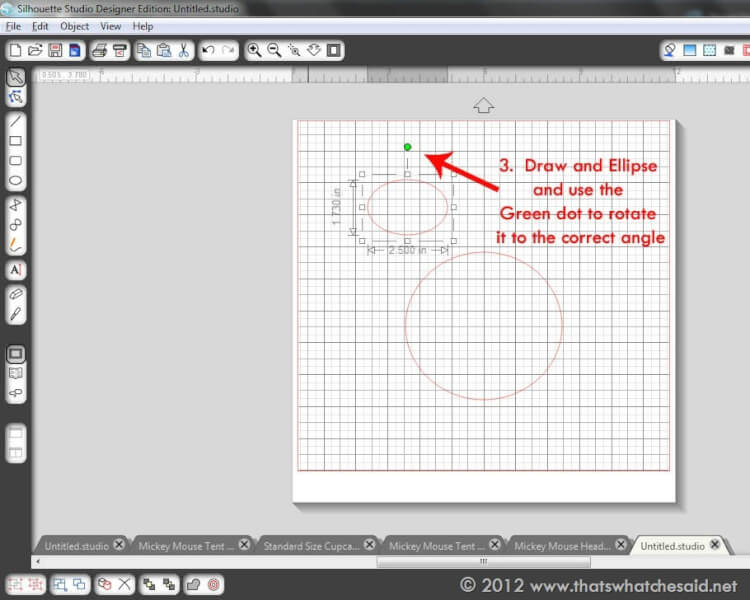 How To Draw A Mickey Mouse Head