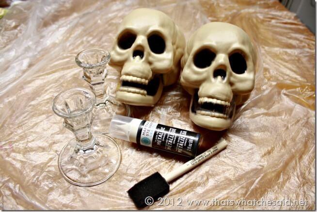 Skull Pedestal Parts