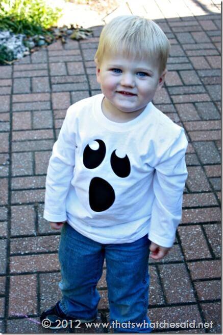 Boo in his Boo Shirt