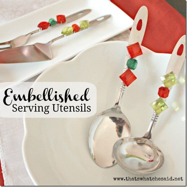Embellished Serving Ware