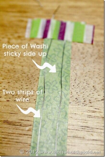 Washi Twisty tie
