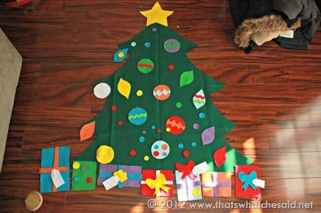 Felt Christmas Tree Patterns Cut Files Thats What Che Said