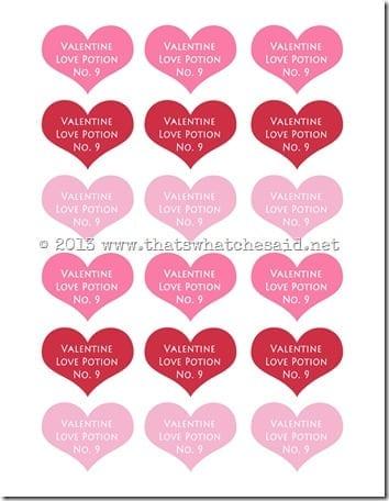Love Potion Heart Tags copy