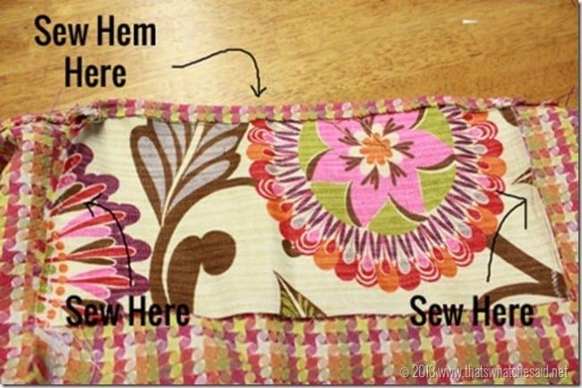 Alternating Fabric Patterns