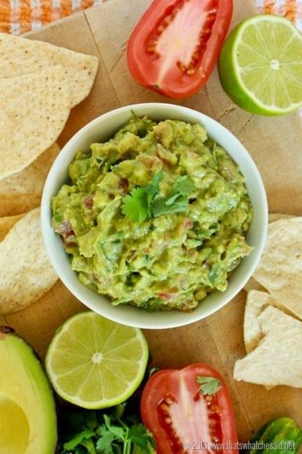 Secret Ingredient Guacamole Recipe