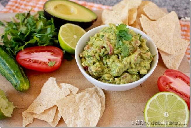 Guacomole Recipe at thatswhatchesaid.net