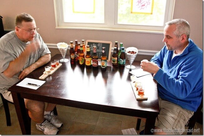 Beer Tasting Guessing Game