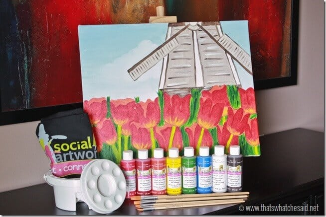 Social Artworking Finished Project Going Dutch at thatswhatchesaid.net