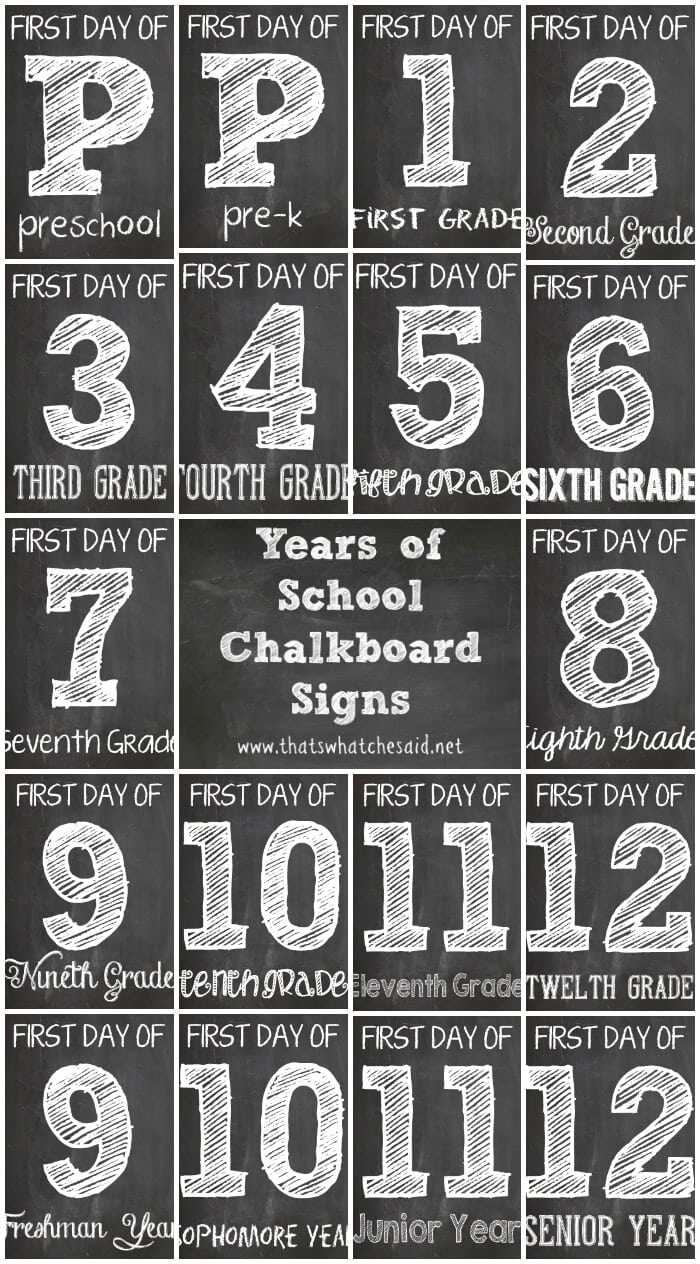 First-Day-of-School-Free-Printables