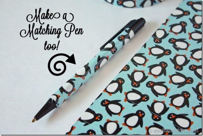 Matching Duck Tape Pen