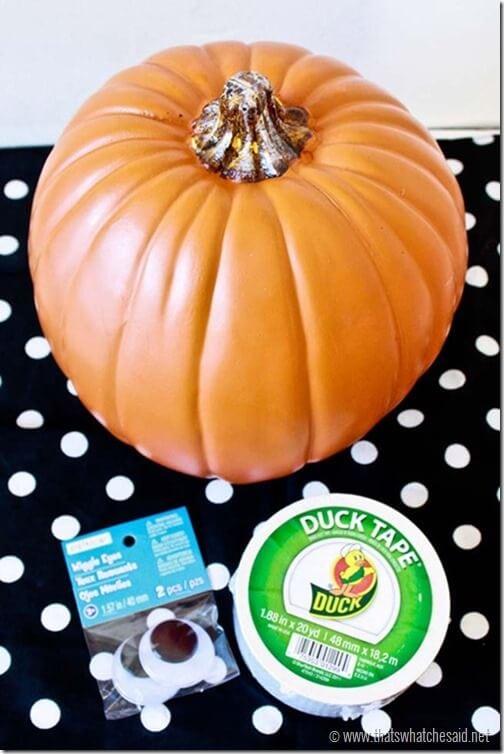 Mummy_Pumpkin_Supplies_Duck_Tape_Projects