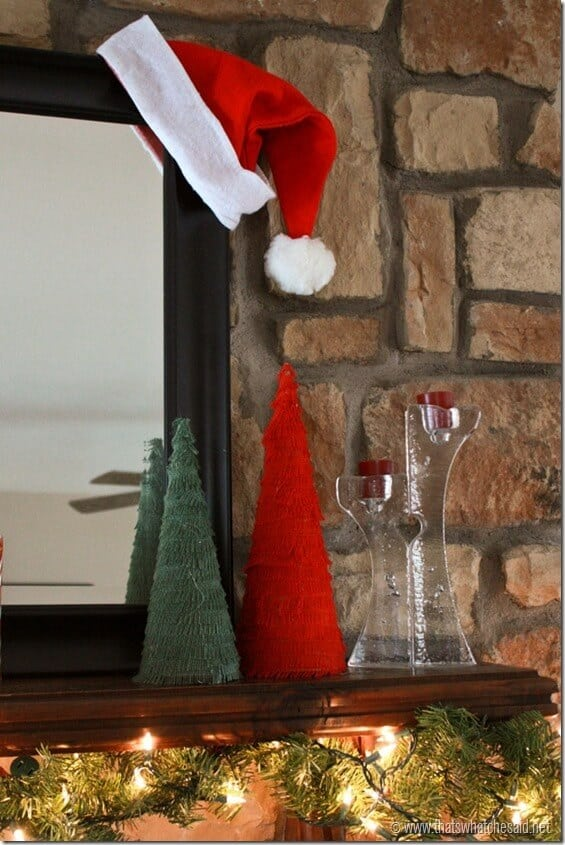 Holiday Mantle 4