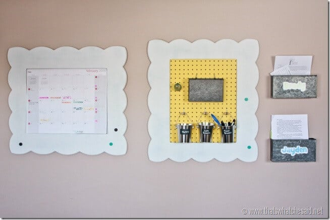 Get Organized with Frames at thatswhatchesaid.net