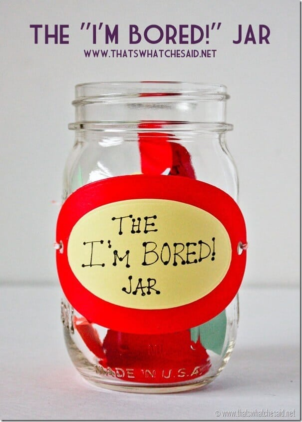 Bored Jar Tutorial at thatswhatchesaid.net