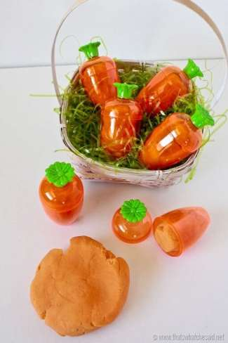 Carrot Orange Play Dough Recipe