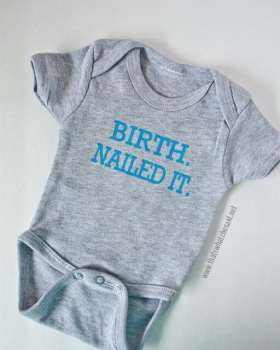 Make your own Newborn Onesie that's funny and trendy!