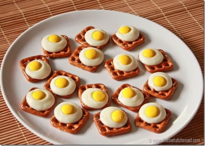 Eggs & Toast Pretzel Bites! So delicious and super fun!