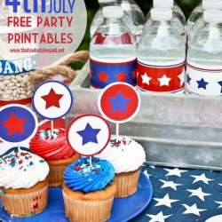 Patriotic Party Printables