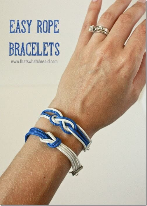 Rope Bracelet 4