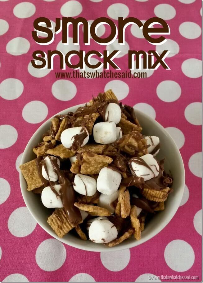 SMore Snack Mix