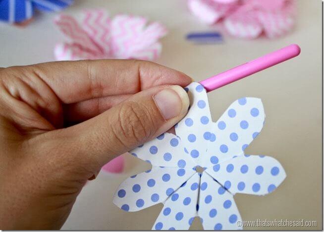 Simple Paper Flowers 9