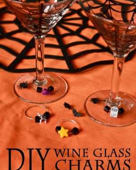Make your own Wine Glass Charms