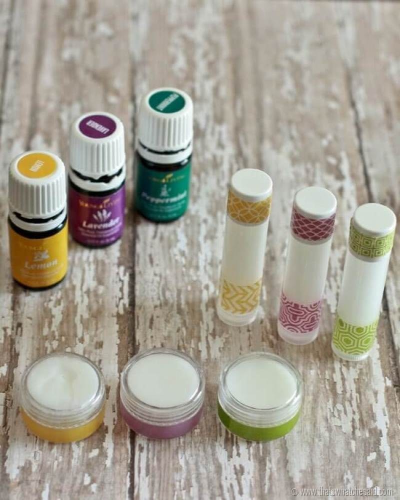 Learn how to easily make your own natural lip balm at thatswhatchesaid.com
