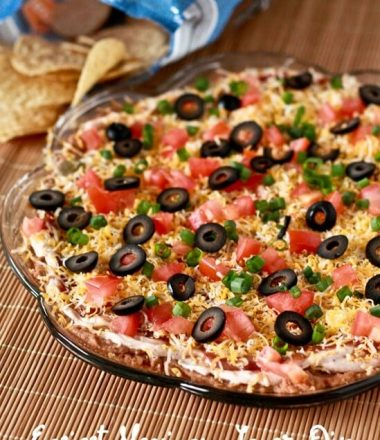 Easy Mexican Layer Dip Appetizer Recipe!
