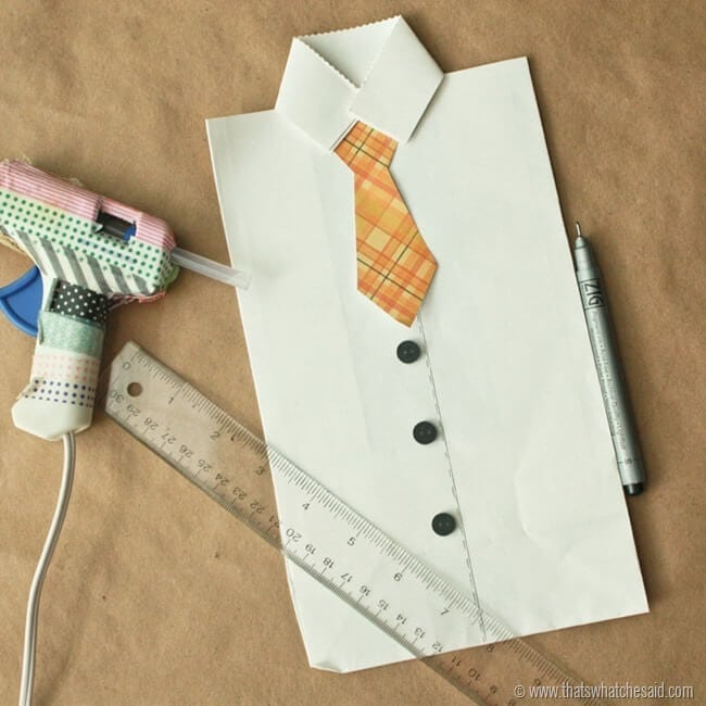 Shirt and Tie Gift Bags 7