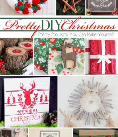 12 Christmas DIY Projects at Monday Funday Link Party www.thatswhatchesaid.com