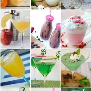 12 Decadent Drinks featured at Monday Funday Link Party!